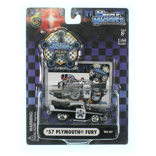 Action Muscle Machines--Die Case Collectibles 1957 Plymouth Fury at up to 95% Off - Swap.com
