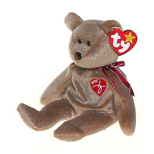 Ty 1999 Signature Ty Beanie Baby bear - Retired at up to 95% Off - Swap.com
