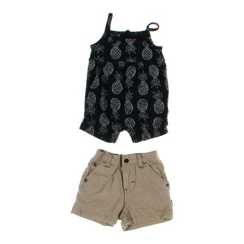 Just One You 2 Pc Adorable Romper & Shorts in size 3 mo at up to 95% Off - Swap.com