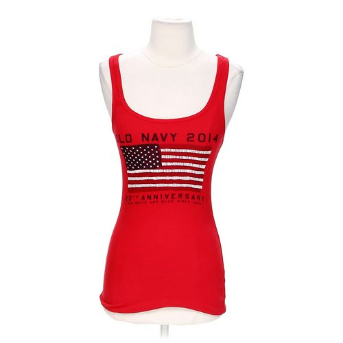 Old Navy 20th Anniversary American Tank Top in size S at up to 95% Off - Swap.com