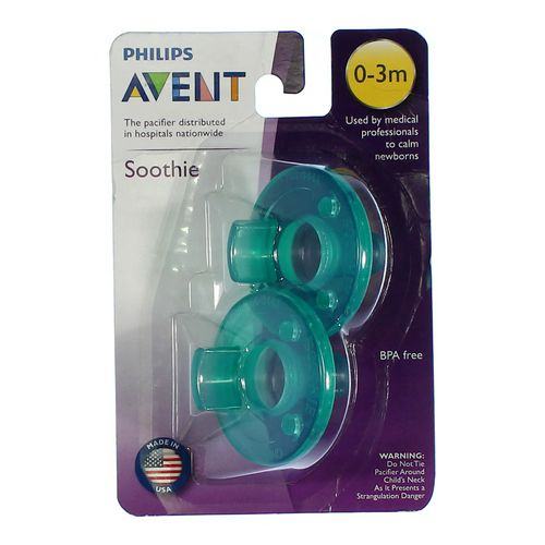 Philips Avent 2pc Pacifiers Set in size NB at up to 95% Off - Swap.com