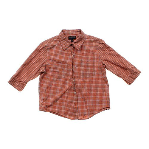 American Eagle Outfitters 3/4-sleeve Button-up in size JR 7 at up to 95% Off - Swap.com