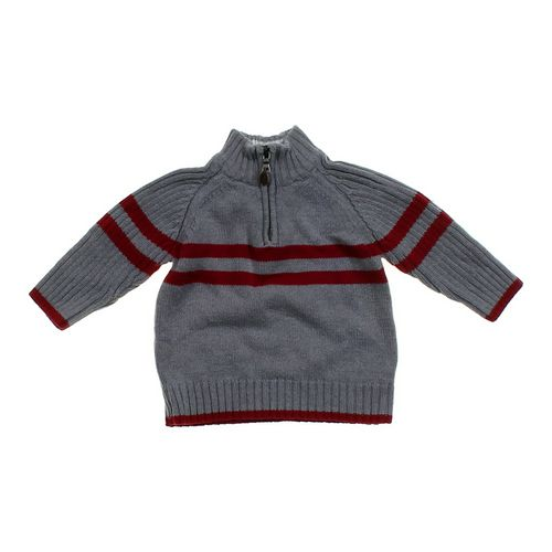 The Children's Place 3/4 Zipper Sweater in size 18 mo at up to 95% Off - Swap.com