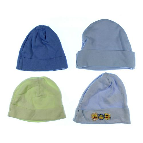 Gerber 4 Pack Hats in size NB at up to 95% Off - Swap.com