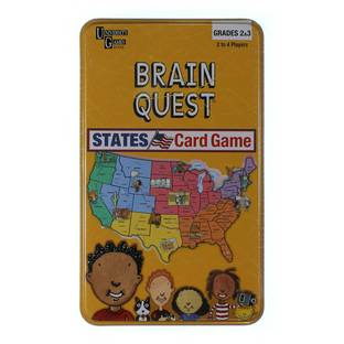 how to play brain quest states game