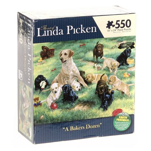 The Art of Linda Picken A Bakers Dozen Puzzle at up to 95% Off - Swap.com