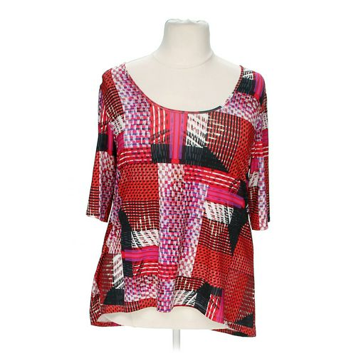 Jete Abstract Blouse in size 2X at up to 95% Off - Swap.com