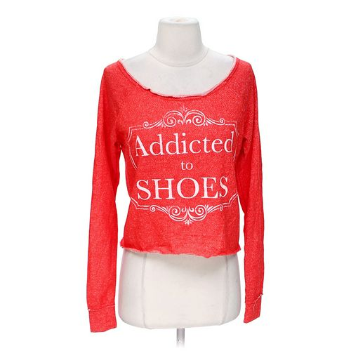 """Body Central """"Addicted To Shoes"""" Shirt in size S at up to 95% Off - Swap.com"""
