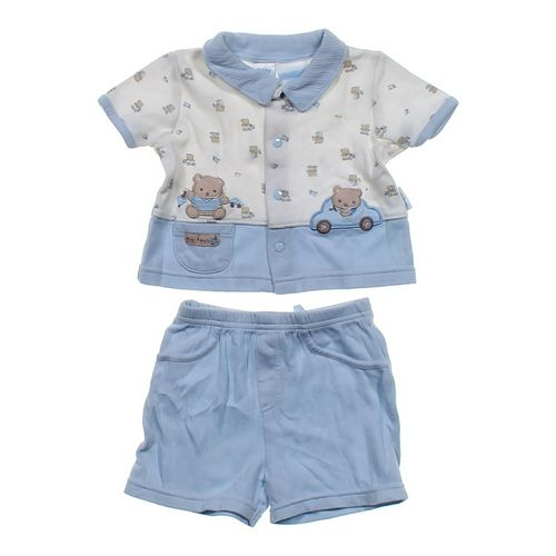 Petite Bears Adorable Bear Shirt & Shorts Set in size 6 mo at up to 95% Off - Swap.com