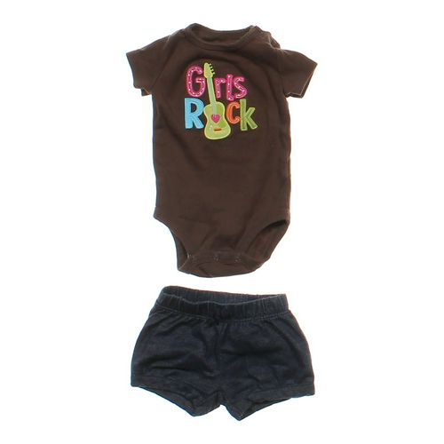 Carter's Adorable Bodysuit & Shorts in size 3 mo at up to 95% Off - Swap.com