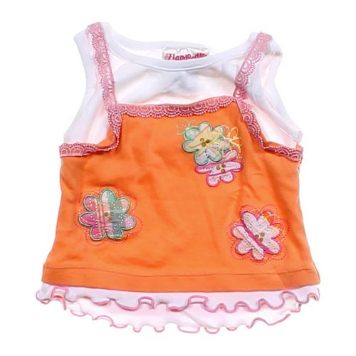 Flapdoodles Adorable Embroidered Tank Top in size 2/2T at up to 95% Off - Swap.com