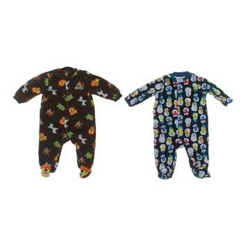 Adorable Footed Pajamas Set for Sale on Swap.com
