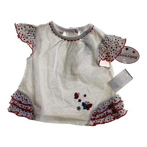 Babyworks Adorable Star Patterned Shirt in size 6 mo at up to 95% Off - Swap.com