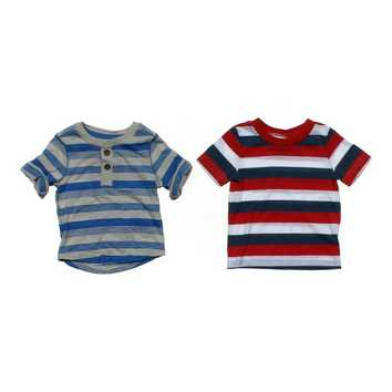Adorable Striped Tee Set for Sale on Swap.com