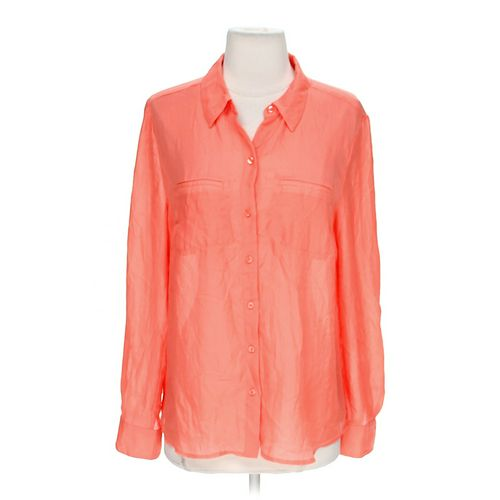 Ann Taylor Loft Airy Button-up Shirt in size M at up to 95% Off - Swap.com