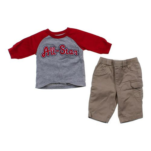 Carter's All-Star Shirt & Basic Pants Set in size 3 mo at up to 95% Off - Swap.com