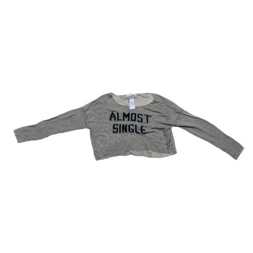 "Say What? ""Almost Single"" Sweater in size JR 7 at up to 95% Off - Swap.com"