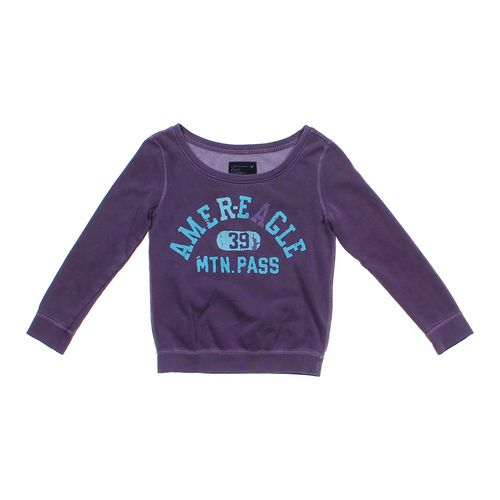 """American Eagle Outfitters """"Amer-Eagle"""" Sweatshirt in size JR 3 at up to 95% Off - Swap.com"""