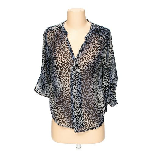 Collective Concepts Animal Print Blouse in size S at up to 95% Off - Swap.com
