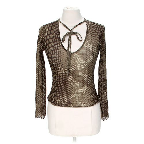 Express Animal Print Blouse in size S at up to 95% Off - Swap.com