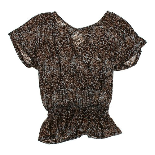 No Boundaries Animal Print Blouse in size JR 3 at up to 95% Off - Swap.com