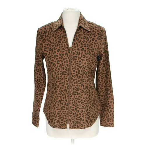 Lemon Grass Animal Print Blouse in size S at up to 95% Off - Swap.com