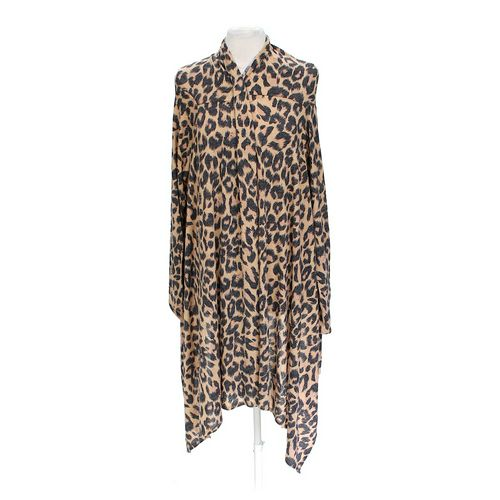 Body Central Animal Print Cardigan in size L at up to 95% Off - Swap.com