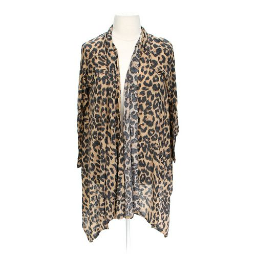 Oh!MG Animal Print Cardigan in size JR 15 at up to 95% Off - Swap.com