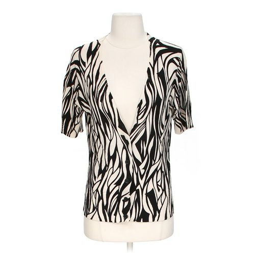 New York & Company Animal Print Cardigan in size S at up to 95% Off - Swap.com