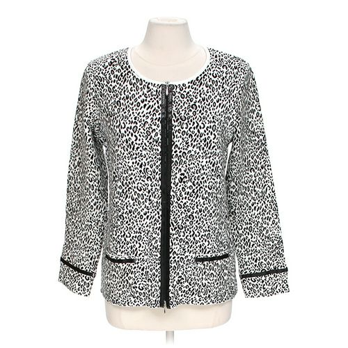 Cellini Animal Print Cardigan Sweater in size XL at up to 95% Off - Swap.com