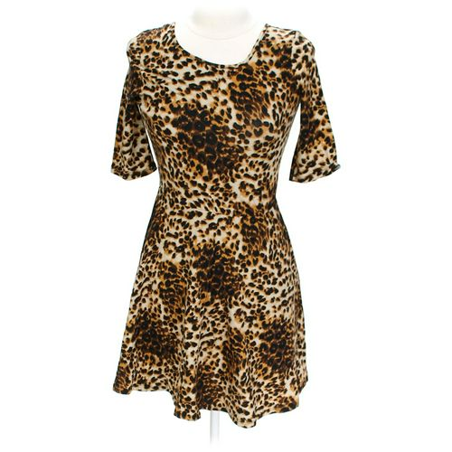 Body Central Animal Print Dress in size L at up to 95% Off - Swap.com