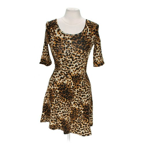 Body Central Animal Print Dress in size S at up to 95% Off - Swap.com