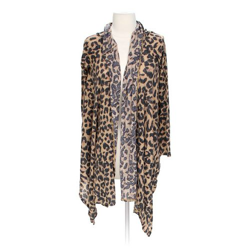Body Central Animal Print Knit Cardigan in size M at up to 95% Off - Swap.com