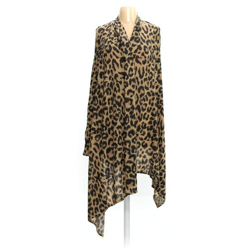 Oh!MG Animal Print Open Front Cardigan in size JR 3 at up to 95% Off - Swap.com