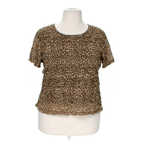 Animal Print Shirt in size 2X at up to 95% Off - Swap.com