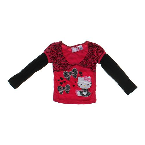 Hello Kitty Animal Print Shirt in size 4/4T at up to 95% Off - Swap.com