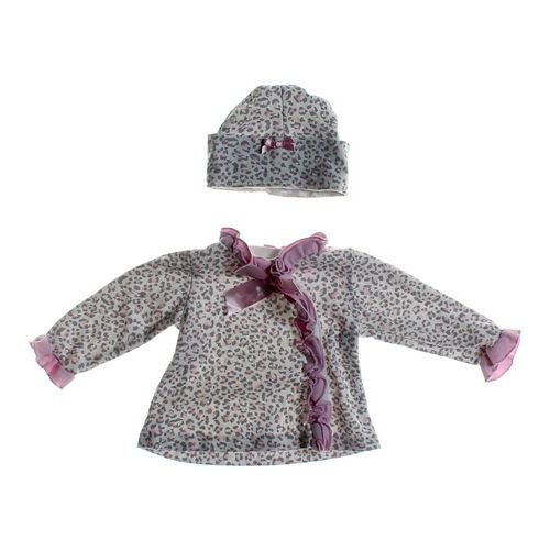 Dressed To Drool Animal Print Shirt & Hat Set in size 6 mo at up to 95% Off - Swap.com
