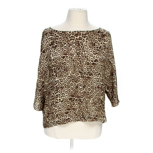 Jones New York Animal Print Shirt in size 1X at up to 95% Off - Swap.com