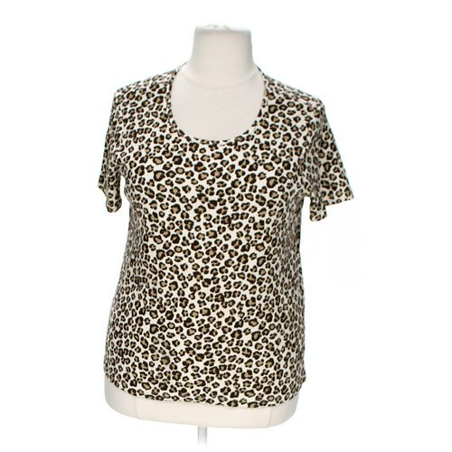 White Stag Animal Print Shirt in size 20 at up to 95% Off - Swap.com