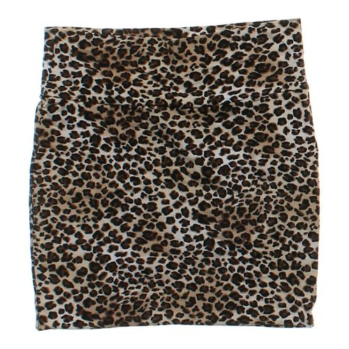Ambiance Apparel Animal Print Skirt in size JR 7 at up to 95% Off - Swap.com
