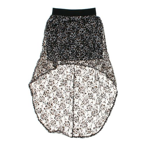 Wet Seal Animal Print Skirt in size JR 7 at up to 95% Off - Swap.com