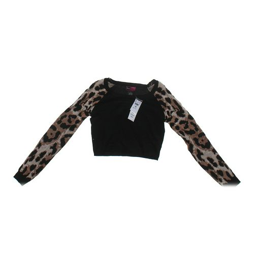 Say What? Animal Print Sweater in size JR 7 at up to 95% Off - Swap.com