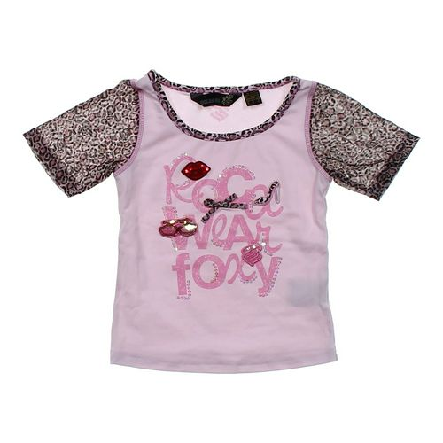 Rocawear Animal Print T-shirt in size 4/4T at up to 95% Off - Swap.com