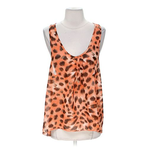 January 7 Animal Print Tank Top in size S at up to 95% Off - Swap.com