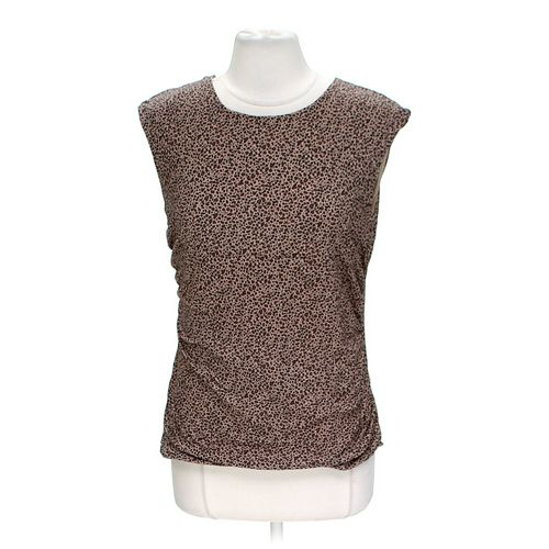 Kathie Lee Animal Print Tank Top in size XL at up to 95% Off - Swap.com