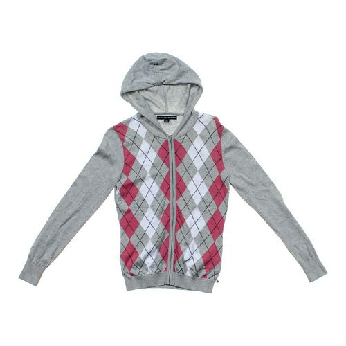 Tommy Hilfiger Argyle Cardigan in size JR 3 at up to 95% Off - Swap.com