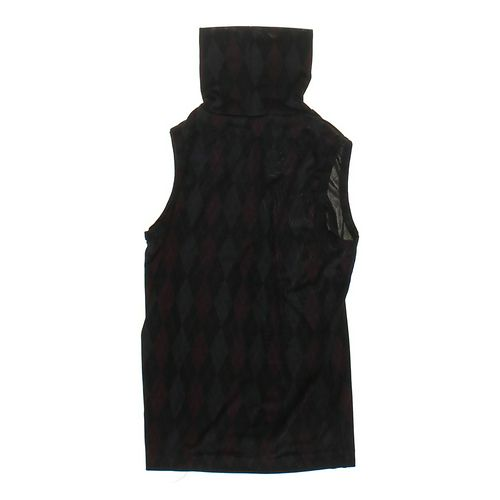 No Boundaries Argyle Turtle Neck Tank in size JR 3 at up to 95% Off - Swap.com