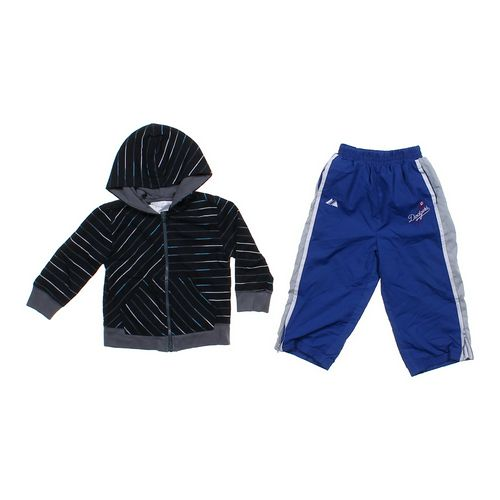 Majestic Athletic Pants & Hoodie in size 24 mo at up to 95% Off - Swap.com