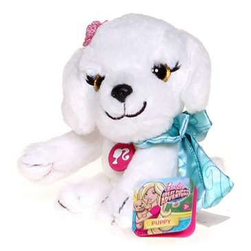 Barbie Great Adventure Beans Stuffed Puppy - White for Sale on Swap.com