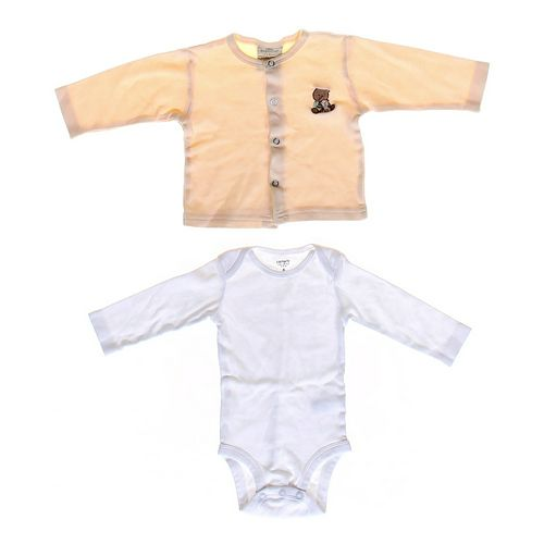 Carter's Basic Bodysuit & Shirt Set in size 6 mo at up to 95% Off - Swap.com